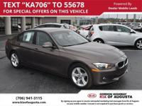 Clean CARFAX. Sparkling Bronze Metallic 2014 BMW 3
