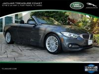 New Price! 2014 BMW 4 Series 428i Mineral Gray Metallic