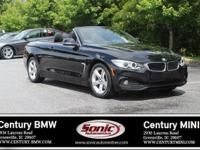BMW Certified Pre-Owned! This 2014 BMW 428i Convertible