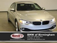 Boasts 35 Highway MPG and 23 City MPG! This BMW 4