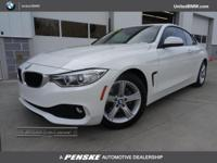 ASK ABOUT 0.9% FINANCING! BMW Certified WARRANTY