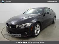 BMW Certified, CARFAX 1-Owner, GREAT MILES 20,695! Jet