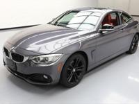 2014 BMW 4-Series with Sport Line,2.0L Turbocharged I4