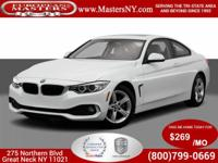This Incredible White 2014 BMW 428XI xDrive Coupe Comes