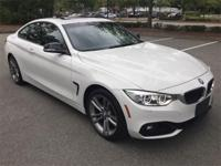 BMW Certified, Low mileage 2014 BMW 428i Coupe in