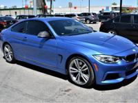 We are excited to offer this 2014 BMW 4 Series. Your