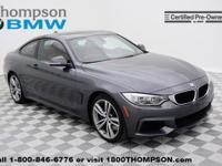 Sensibility and practicality define the 2014 BMW 435i