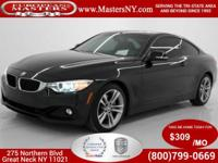 This Wonderful Black 2014 BMW 435XI 4Matic Coupe Comes