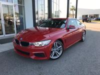 This BMW 4 Series has a strong Intercooled Turbo