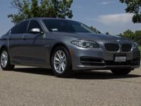 528i trim. FUEL EFFICIENT 34 MPG Hwy/23 MPG City!