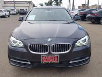 Options:  2014 Bmw 5 Series 528I|Gray|Navigation