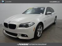 CARFAX 1-Owner, ONLY 38,021 Miles! 528i trim, Alpine