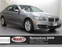 Boasts 34 Highway MPG and 23 City MPG! This BMW 5