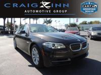 PREMIUM & KEY FEATURES ON THIS 2014 BMW 5 Series