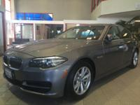 Options:  2014 Bmw 5 Series 4Dr Sdn 528I Rwd|4-Wheel