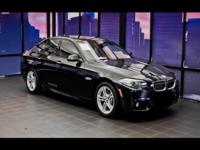 EPA 34 MPG Hwy/23 MPG City! GREAT MILES 44,394! 528i