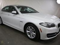 2014 BMW 5 Series Mineral White Metallic AWD  CARFAX