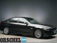 Gray 2014 BMW 5 Series 528i xDriveAWD, Navigation