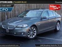 This 2014 BMW 5 Series 4dr 528i xDrive features a 2.0L