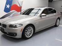 2014 BMW 5-Series with 2.0L Turbocharged I4