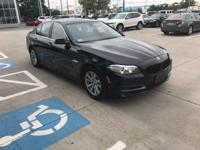 2014 BMW 5 Series AWD  CARFAX One-Owner. Certified.
