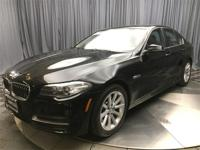 BMW Certified and Black w/Dakota Leather Upholstery.