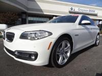 BMW Certified, CARFAX 1-Owner, ONLY 30,117 Miles! FUEL
