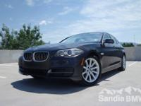 Sandia BMW MINI is offering this  2014 BMW 5 Series