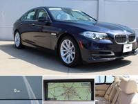 2014 Imperial Blue Metallic BMW 5 Series 535d xDrive