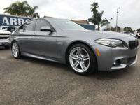 Options:  2014 Bmw 5 Series 4Dr Sdn 535I Rwd Used|Gray