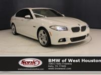This Certified Pre-Owned 2014 BMW 535i Sedan has a