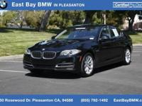 Options:  2014 Bmw 5 Series 535I|Jet Black/Black|V6 3.0