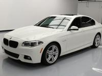 2014 BMW 5-Series with M Sport Package,3.0L