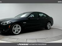 ONE OWNER and CLEAN CARFAX! 2014 BMW 5 Series 535i