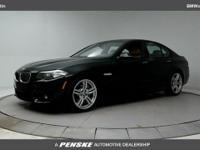 ONE OWNER and CLEAN CARFAX! 2014 BMW 5 Series 535i Jet