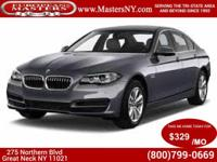 This Beautiful Grey 2014 BMW 550I M Sport Sedan Comes