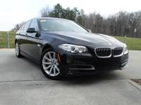 535i trim. CARFAX 1-Owner, BMW Certified, Excellent