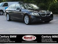 BMW Certified Pre-Owned! This 2014 BMW 535i sedan is