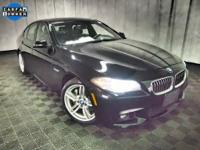 2014 BMW 5 Series 535i xDrive  in Jet Black. Cold
