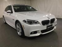 2014 BMW 5 Series Alpine White AWDCARFAX One-Owner.