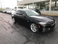 Recent Arrival! 2014 Black Sapphire Metallic BMW 5
