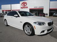 Recent Arrival! New Price! 2014 BMW 5 Series 550i