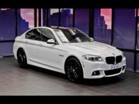 550i xDrive, AWD, Clean CARFAX Report, and Local Trade
