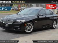 This 2014 BMW 5 Series 4dr ActiveHybrid 5 features a