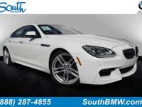 Options:  2014 Bmw 6 Series 640I|Alpine White/Vermilion