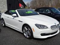 This 2014 BMW 6 Series 650xi Convertible features a