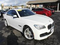 Options:  2014 Bmw 7 Series 740I 4Dr