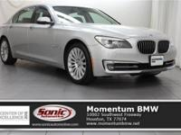 Scores 29 Highway MPG and 19 City MPG! This BMW 7