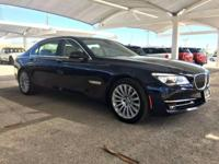 We are excited to offer this 2014 BMW 7 Series. This