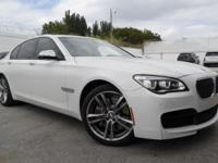 Options:  2014 Bmw 7 Series 750I|Alpine White/Veneto